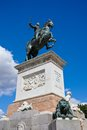 Statue of felipe iv on oriente square madrid spain Royalty Free Stock Images