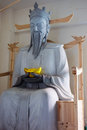 Statue in feng huang the most famous ancient town hunan province china Royalty Free Stock Photos