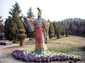 Statue Of First Qin Emperor In...