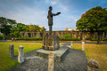 Statue At Fort Santiago, In In...