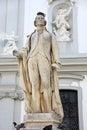 Statue of Franz Joseph Haydn in Vienna Royalty Free Stock Photo