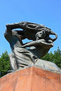 Statue of Frederic Chopin Royalty Free Stock Photography