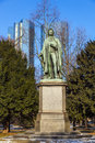Statue of Friedrich Schiller Stock Images