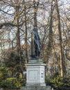Statue of friedrich von schiller at the maximiliansplatz in muni historic munich Stock Photos