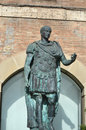 Statue of Gaius Julius Caesar Stock Photos