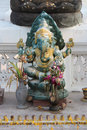 A Statue Of Ganesh Was Install...