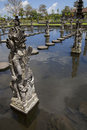 Statue garden bali Royalty Free Stock Photo