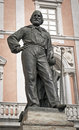 Statue of garibaldi in pisa italy Royalty Free Stock Photography