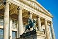 Statue on Gendarmenmarkt in Berlin - Germany Royalty Free Stock Photo