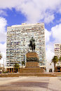 Statue of General Artigas  Montevideo, Uruguay Royalty Free Stock Photo