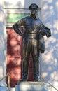 MacArthur, General Douglas MacArthur Statue in Norfolk, Virginia Royalty Free Stock Photo