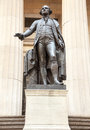 Statue George Washington Federal Hall Stock Photography