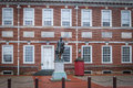 Statue of George Washington at Independence Hall - Philadelphia, Pennsylvania, USA Royalty Free Stock Photo