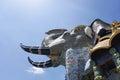 Statue of giant elephant