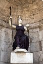 Statue of Goddess Rome Royalty Free Stock Image