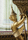 Statue in grand palace bangkok thailand Stock Photo