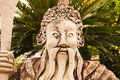 Statue in grand palace of bangkok thailand Royalty Free Stock Photography