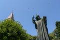 Statue of Gregorius of Nin in Split Royalty Free Stock Photo
