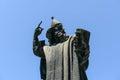 Statue of Gregorius of Nin Royalty Free Stock Photo