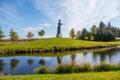 Statue, Grutas parkas, lithuania Royalty Free Stock Photo