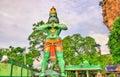 Statue of Hanuman, a Hindu god, at the Ramayana Cave, Batu Caves, Kuala Lumpur
