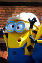 Statue of `HAPPY MINION`