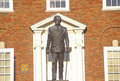 Statue of Harry S. Truman in front of the Jackson County Courthouse, Independence, MO Royalty Free Stock Photo