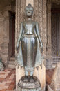 Statue at haw pha kaew temple in vientiane laos Royalty Free Stock Image