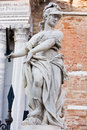 Statue of helmeted pallas athena minerva Royalty Free Stock Photography