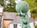 Statue of Hercules God in Portmeirion