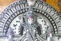 Statue of Hindu Goddess Durga at Durga Puja festivals Royalty Free Stock Photo