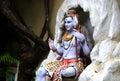 Statue of Hindu Lord Shiva, Rishikesh. India Royalty Free Stock Photo