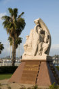 Statue homage resistance ajaccio corsica france Royalty Free Stock Photography
