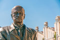 Statue of igor sikorsky detail the in the polytechnic institute kiev in ukraine Stock Photography