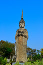Statue imagery kaewku temple udonthanee province thailand Royalty Free Stock Photos