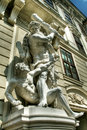 Statue at Imperial Palace in Vienna Royalty Free Stock Photo