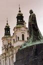 Statue of Jan Hus Royalty Free Stock Photo