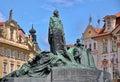 Statue of Jan Hus in Prague