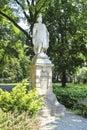 Statue of Jan III Sobieski, famous polish king. Krakow, Poland. Royalty Free Stock Photo