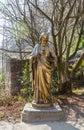 Statue of Jesus Christ, Lyon France Royalty Free Stock Photo