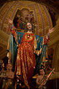 Statue of Jesus of the Sacred Heart Royalty Free Stock Photo