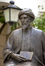 Statue of the jewish scholar moses maimonides rabbi mosheh ben maimon cordoba andalusia spain Stock Photos