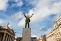 Statue of Jim Larkin. Dublin, Ireland Royalty Free Stock Image