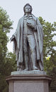 Statue of johann christoph friedrich von schiller in frankfurt am main germany a german poet philosopher historian and playwright Stock Photos