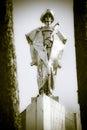 Statue of juraj janosik slovak highwayman famous terchova slovakia Royalty Free Stock Image
