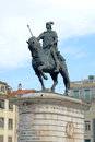 Statue of King João I at Praça da Figueira, Lisbon Stock Image