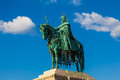 Statue of King St. Stephen, Budapest, Hungary Royalty Free Stock Image