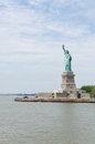 Statue of liberty the enlightening the world Stock Photography