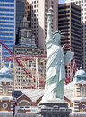 Statue of liberty in las vegas scene nevada usa Royalty Free Stock Image
