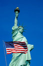 Statue of liberty new york city usa Royalty Free Stock Images